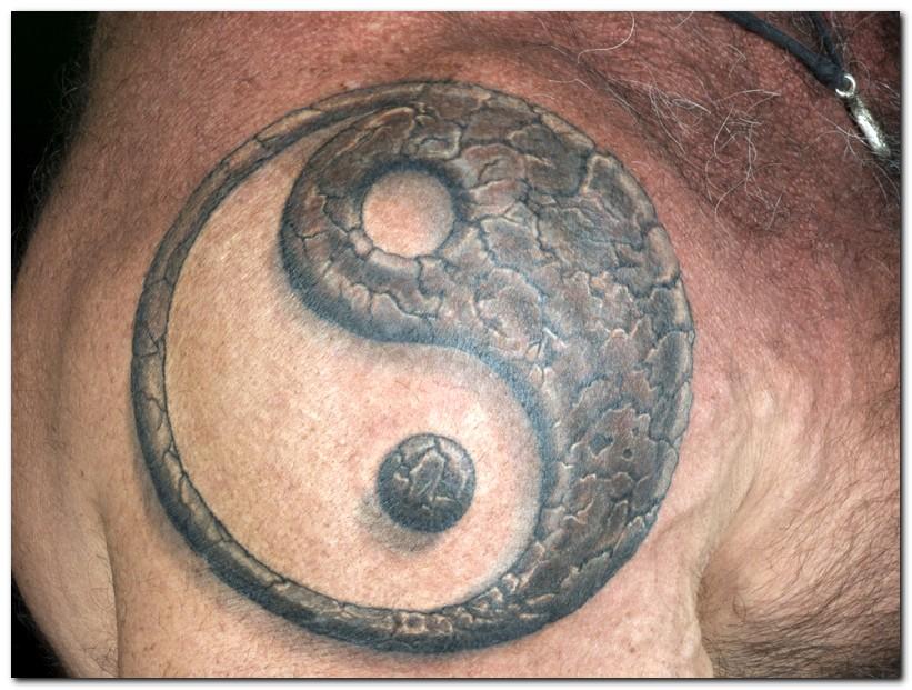 tribal yin yang tattoo tattos tattos. Black Bedroom Furniture Sets. Home Design Ideas