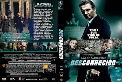 Filme Desconhecido (Unknown) DVD Capa