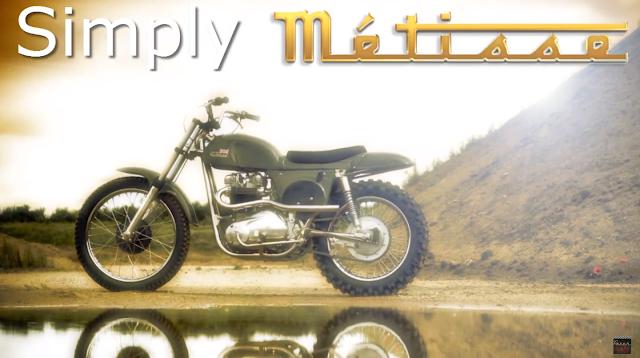Metisse Desert Racer từ Rickman Motorcycle