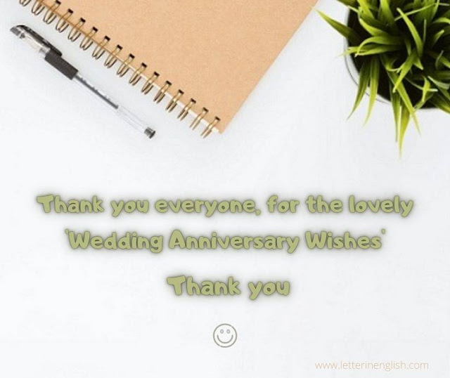 Marriage anniversary wishes reply