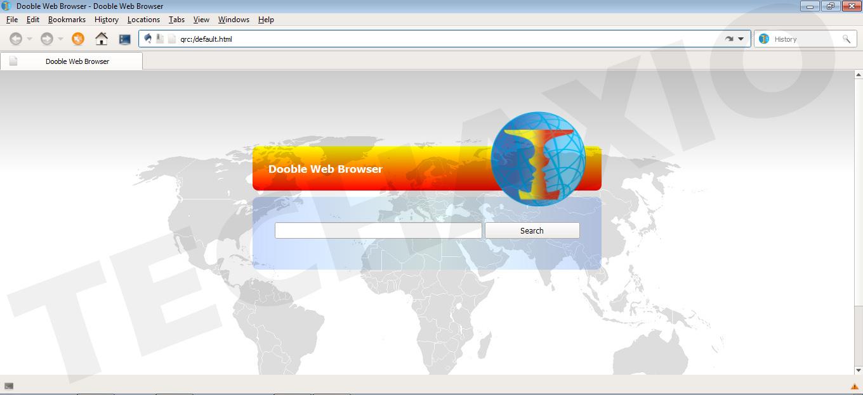 Dooble Browser Screenshot