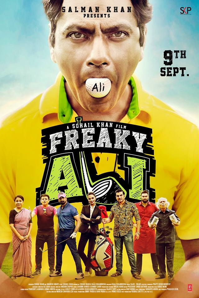 full cast and crew of bollywood movie Freaky Ali 2017 wiki, Nawazuddin Siddiqui, Amy Jackson, Arbaaz Khan story, release date, Actress name poster, trailer, Photos, Wallapper