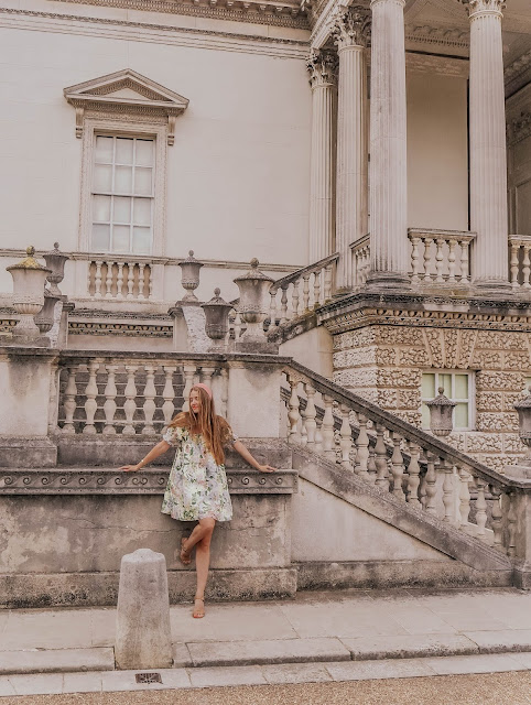 Chiswick House in Summer Fashion Blog Photoshoot