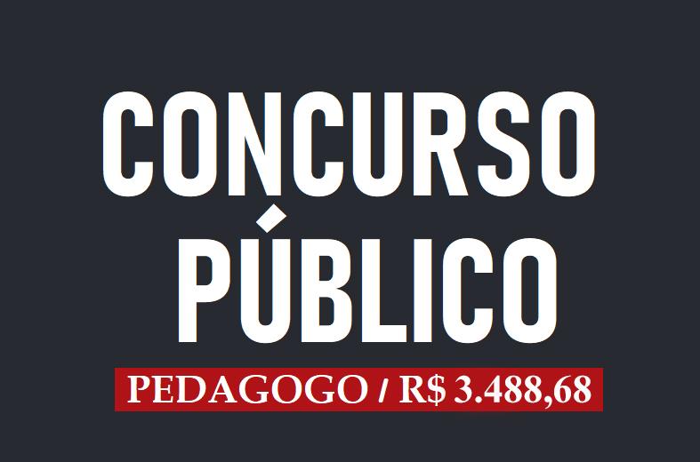 Concurso em SP para Pedagogo(a). Salário de R$ 3.488,68