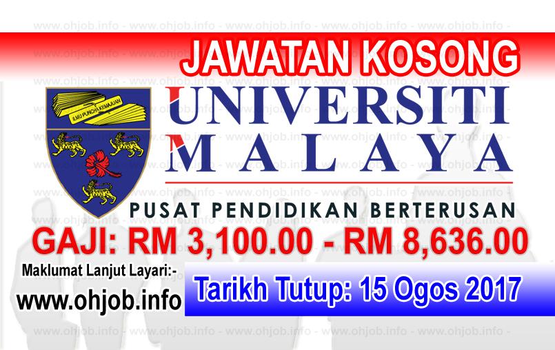 Jawatan Kerja Kosong Universiti Malaya - UMCCed logo www.ohjob.info ogos 2017