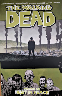 Book cover to The Walking Dead Volume 32 by Robert Kirkman