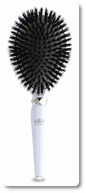 Elite Models 100 Percent Boar Bristles Cushion Brush