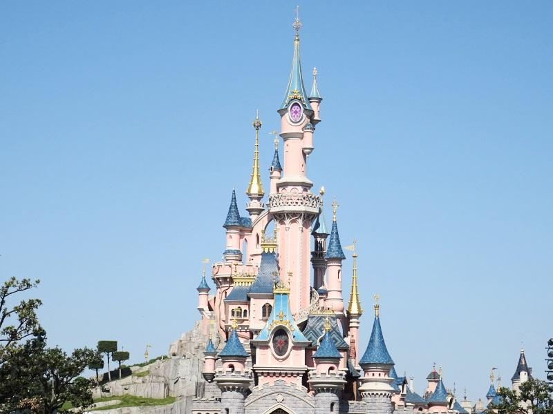 Chateau de la belle au bois dormant à Disneyland Paris