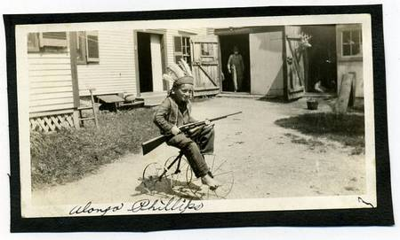Boy in Indian costume on bike 1950  sc 1 st  Vintage Everyday & Creepy Vintage Halloween Costumes from 1800 - 1959 ~ vintage everyday