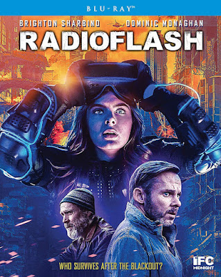 Cover art for Scream Factory's Blu-ray release of RADIOFLASH!