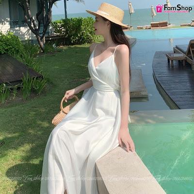 Shop bán váy maxi đẹp tại Long Biên