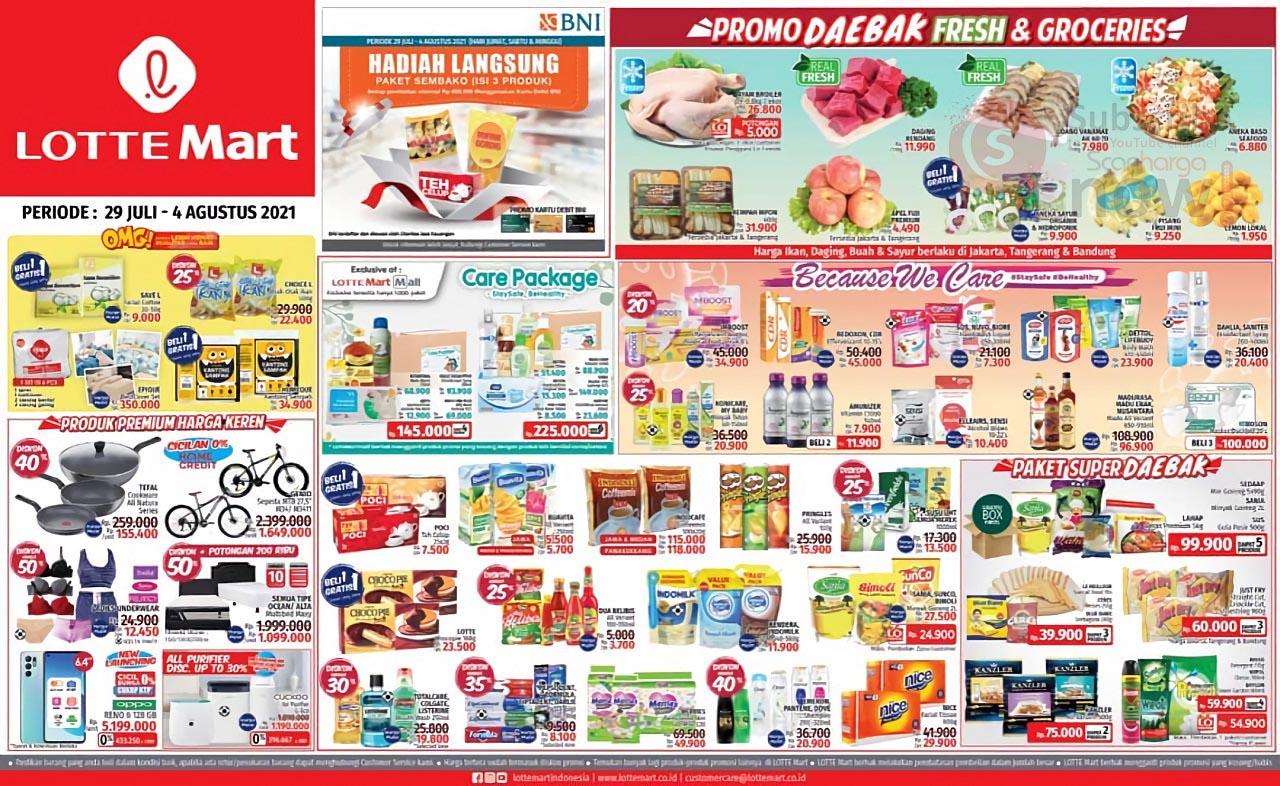 Katalog Promo JSM Lottemart Weekend 29 Juli - 4 Agustus 2021