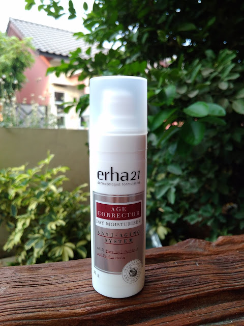 Review ERHA age corrector day moisturizer