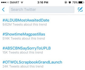 #AlDubMostAwaitedDate reaches 10M-mark