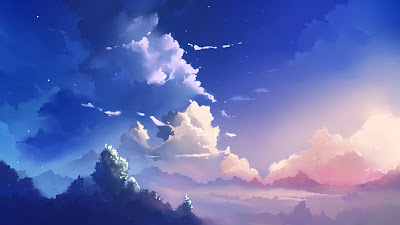 Image result for anime landscape
