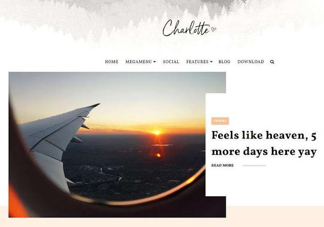 Charlotte Blogger Theme