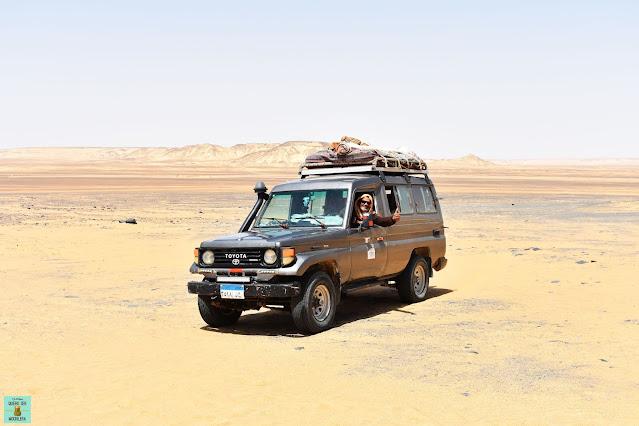 Excursión al desierto de Egipto