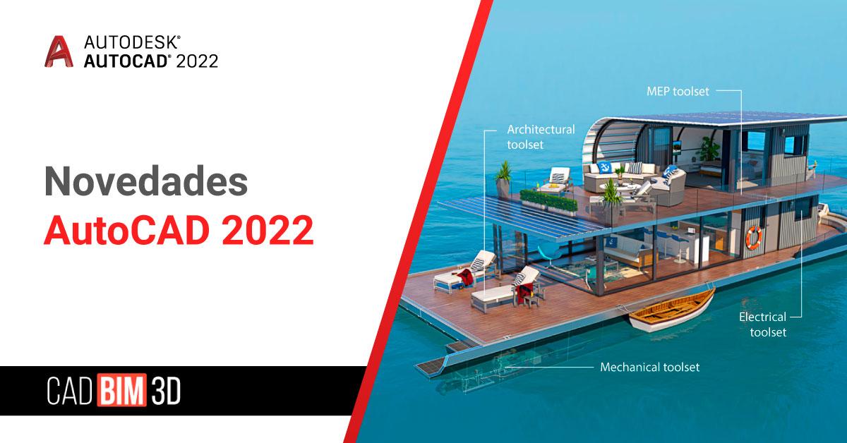 Novedades Autocad 2022