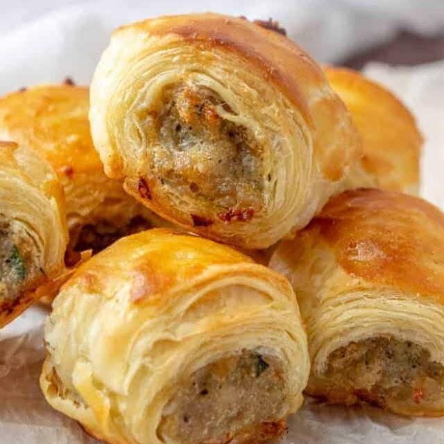 Sausage Rolls #appetizer #sausage