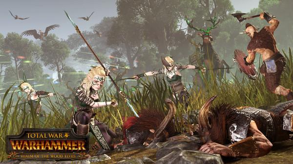 Conoce a los Elfos Silvanos que llegan el 8 de diciembre a Total War Warhammer
