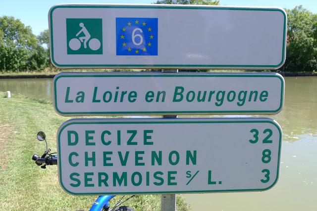 De Paris à Narbonne en vélo, Panneaux