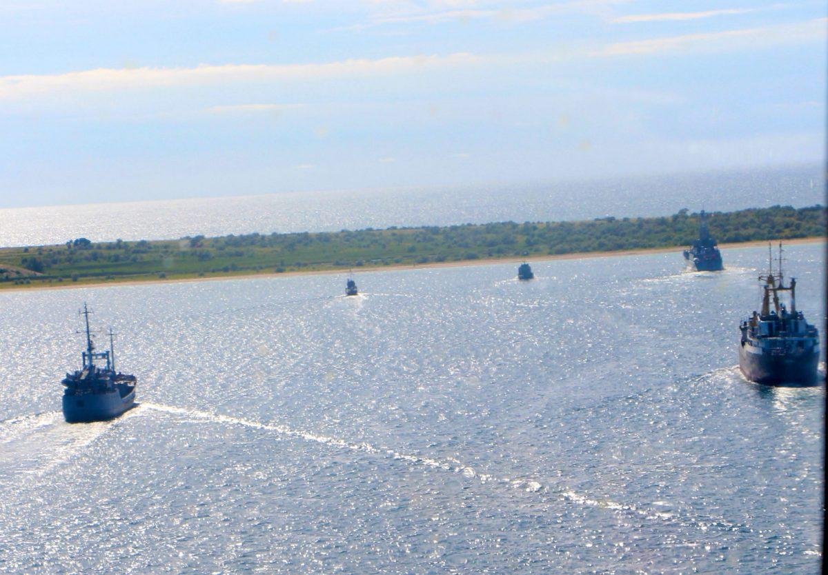Висадка морського десанту ВМСУ на ворожий берег (ВІДЕО)