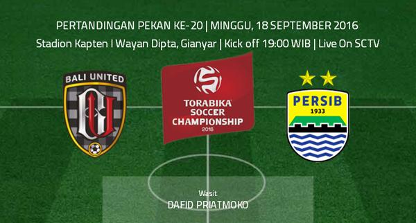 Bali United vs Persib