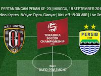 TSC 2016: Bali United vs Persib
