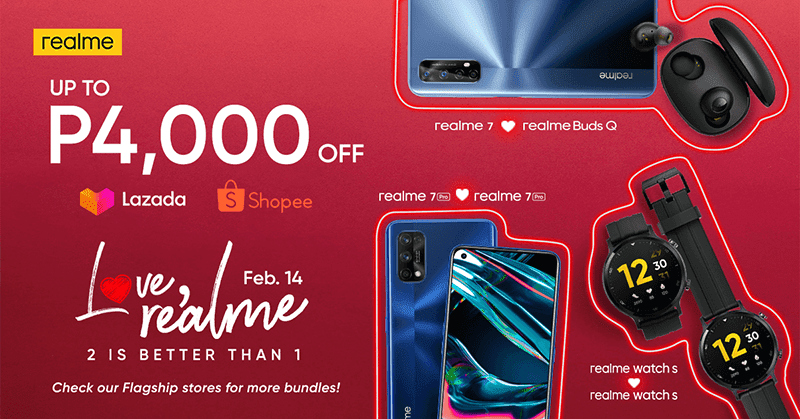 realme announces Valentine's Day promo, enjoy up to PHP 4,000 discount and bundles
