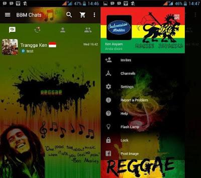 BBM MOD Reggae Themes Based New V.2.12.0.9 Clone