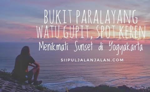 Bukit Paralayang Watu Gupit, Spot Keren Menikmati Sunset di Yogyakarta