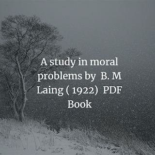 study in moral problems