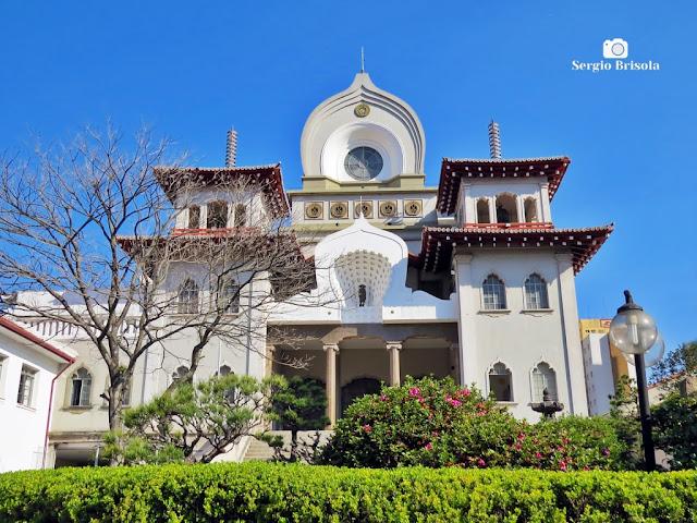 Vista ampla do Templo Honpa Hongwanji do Brasil - Chácara Inglesa - São Paulo