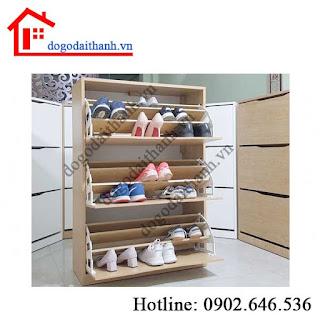Mẫu tủ giày thông minh và giá rẻ tại tphcm