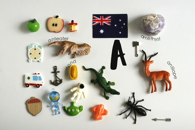 A Language objects for Montessori alphabet box by TomToy