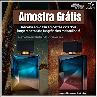 Amostra Grátis Perfume Natura