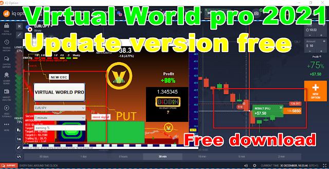 virtual world binary option pro v21 free download /update version robot free