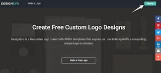 Tạo Logo miễn phí 100% với DesignEvo