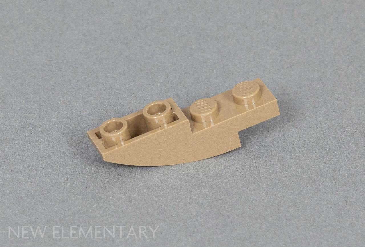 Lego 5 New Dark Tan Brick 2 x 2  Dot Pieces
