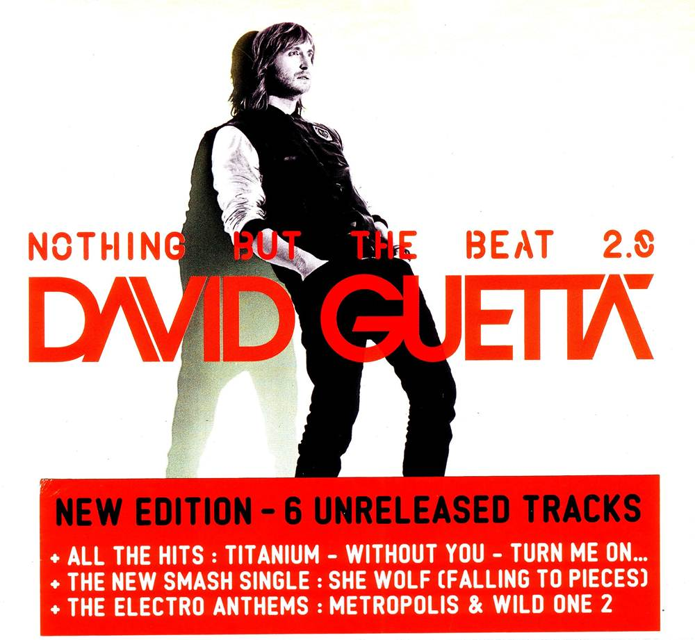 nothing but the beat The first disc of nothing but the beat will keep the hits rolling: its second part seems a more intriguing proposition, a collection of instrumental tracks that gives guetta the chance to cut free.