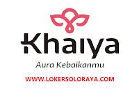 Loker Staff Pola dan Sample Khaiya