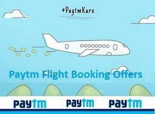 Flights upto Rs. 1500 Cashback – PayTM