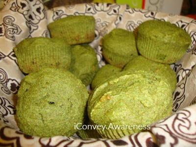 @ConveyAwareness - Green Muffins