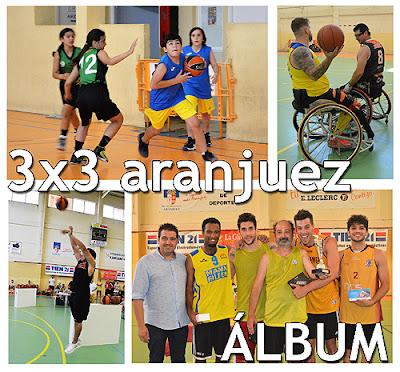 Maratón 3x3 Baloncesto Aranjuez