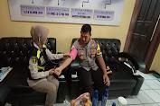 Tim Dokkes Polres Serang Kota, Cek Kesehatan TNI-Polri di PAM Pilkades
