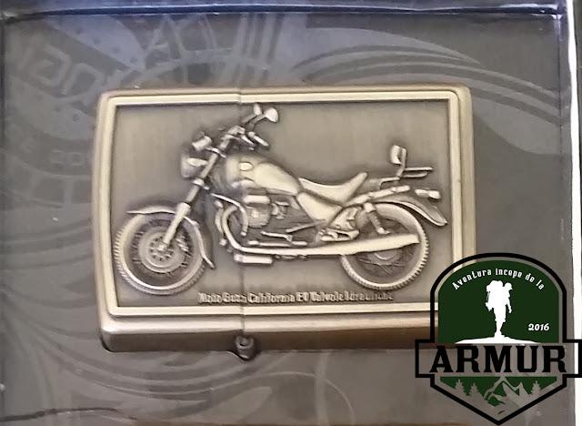 Bricheta Motor motocicleta tip zippo Rock punk