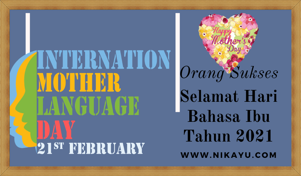 Twibbon Ucapan Hari Bahasa Ibu [International Mother Language Day ] 2021