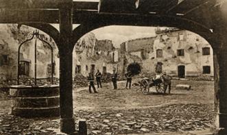 Fort Mortier (territoire de Neuf-Brisach) - État en novembre 1870.