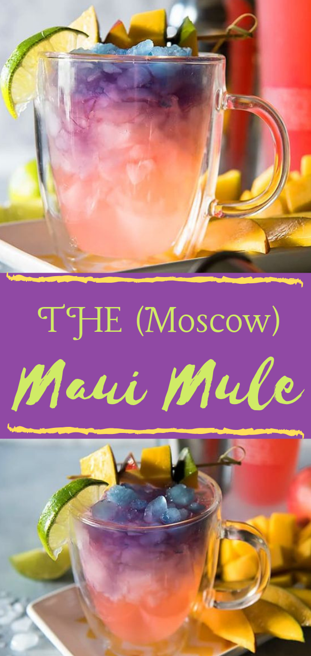THE MAUI MOSCOW MULE #drink #smoothie #cocktail #party #healthy