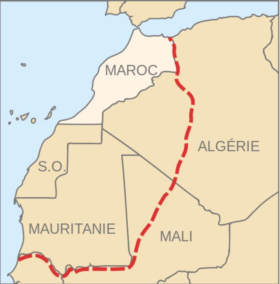 Mapa del Gran Marruecos